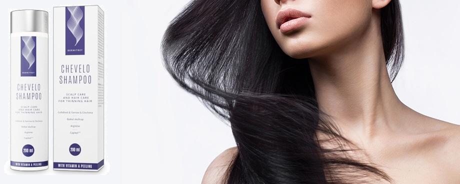 Essayez-le Chevelo Shampoo, qui ne contient que des ingrédients naturels!